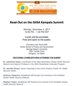 Crispr the pandora report global health security on your lunch break only at the read out on the ghsa summit will you get lunch and an in depth recap sciox Gallery